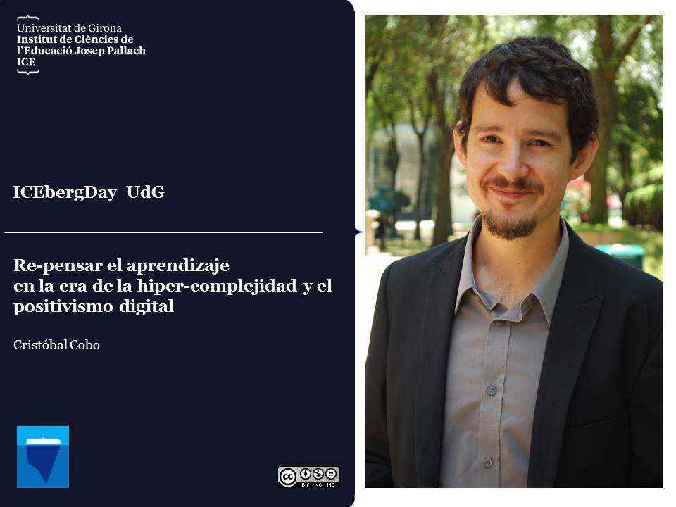 Vídeo conferència de Cristóbal Cobo a l'ICEberg Day