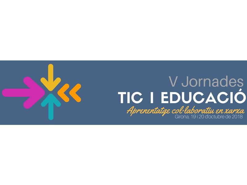V Jornades TIC i Educació