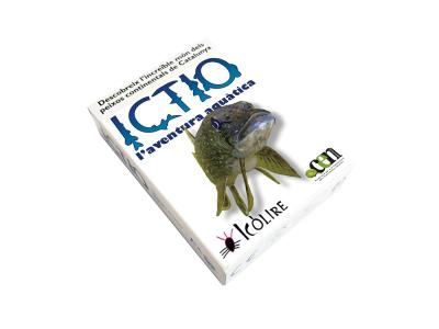 ICTIO. El joc de cartes del Grup de recerca en Ecologia Aquàtica Continental