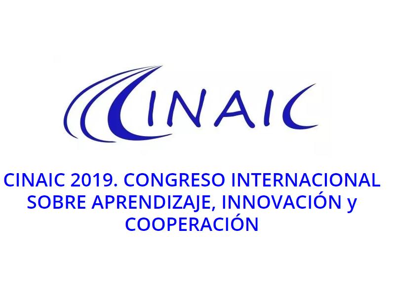CINAIC 2019. Congrés Internacional sobre Aprenentatge, Innovació i Cooperació