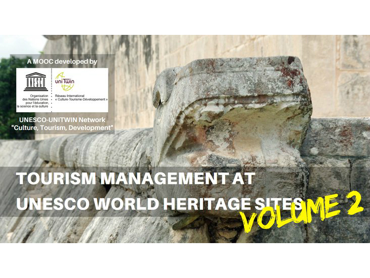 "MOOC ""Tourism Management at UNESCO World Heritage Sites (Vol. 2)"""