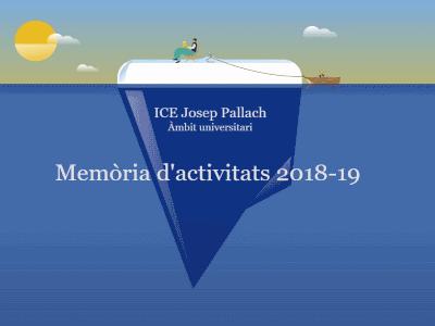 Memòria d'activitats 2018-19