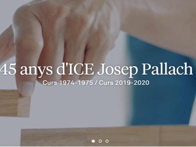 45 anys d'ICE Josep Pallach
