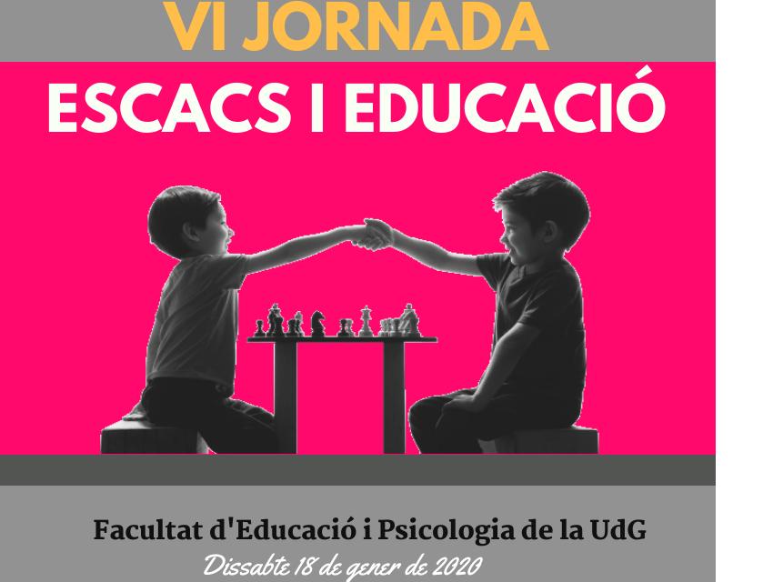 VI Jornada Escacs i Educació