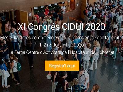 """En marxa el #CIDUI2020 sota el títol """"Més enllà de les competències: nous reptes en la societat digital"""""""