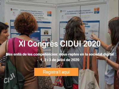 Envia la teva comunicació al XI Congrés d'innovació docent CIDUI 2020