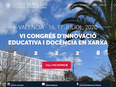 VI CONGRESO DE INNOVACIÓN EDUCATIVA Y DOCENCIA EN RED (IN-RED 2020)