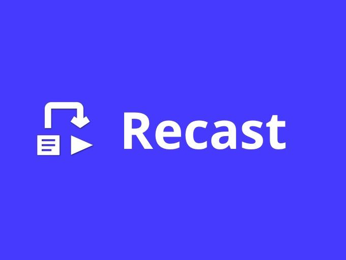Creació de vídeos promocionals amb Recast Studio