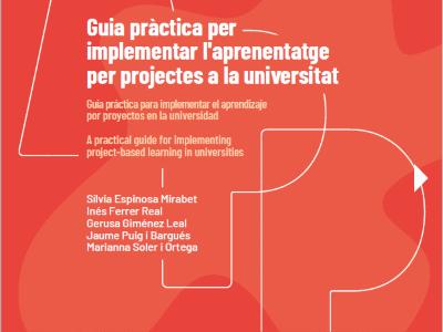 Guia pràctica per implementar l'aprenentatge per projectes a la universitat