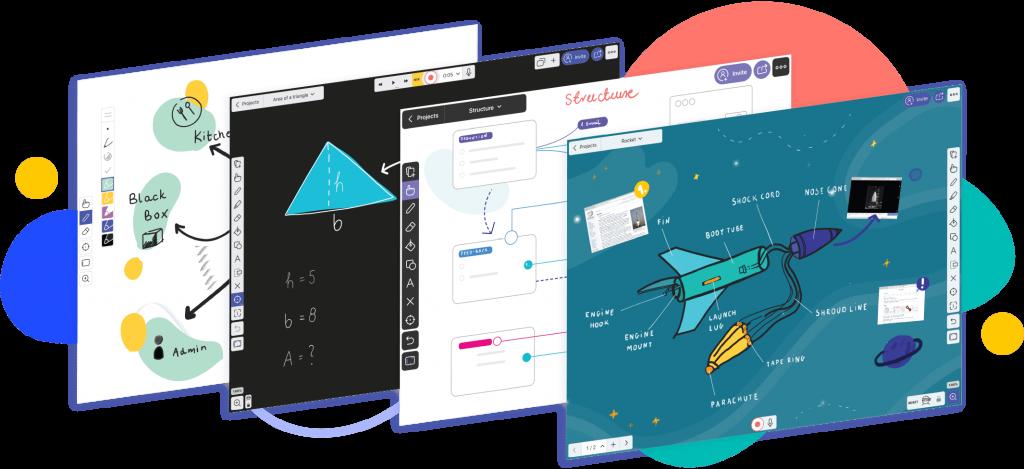 Captures de pantalla de l'entorn gràfic de l'eina
