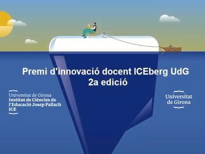 Resolució del Premi d'Innovació Docent ICEberg UdG. 2a edició