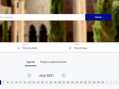 Plataforma de jornades i congressos esdeveniments.udg.edu