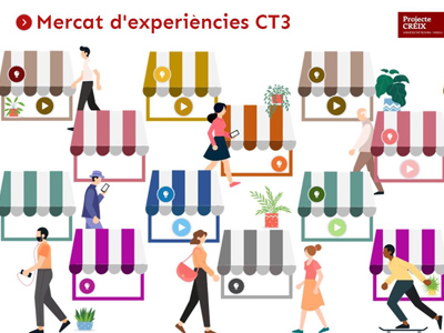 Mercat d'Experiències CT3, del projecte CREIX de la Universitat Rovira i Virgili